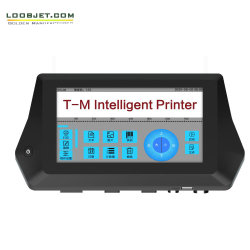 Stampante di getto di inchiostro di codice in lotti della data di scadenza del contrassegno di codice a barre