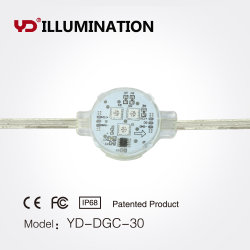 Anti-Shock anti-UV LED étanche Point de pixel