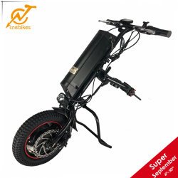 Cnebikes Handbike 36V 350W Electric Handcycle Wheelchair Attachment mit Lithium Battery
