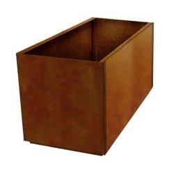 De Pot van de Installatie van /Aluminum van de Pot van de Bloem van /Outdoor van het Staal van Corten/de Doos van de Planter van de Bloem/Pot van de Bloem van het Hotel de Grote