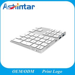 디지털 USB 허브 정제를 위한 무선 Bluetooth 숫자 키패드 키보드