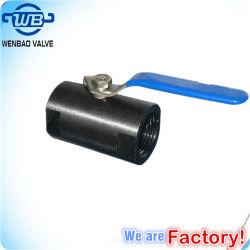 Pn16 une pièce en acier au carbone A105 Réduction de clapet à bille de port
