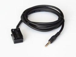 自動車 Bluetooth 音楽補助オーディオアダプタケーブルフィット、 Ford 用 フィエスタフォーカスモンデオ MK3.