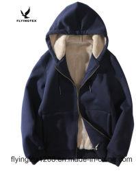 Les hommes Hoodied veste polaire berbère