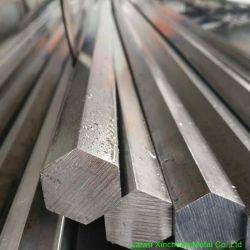 SAE 1045 S45c C45 Ck45の中型の炭素鋼の風邪-引かれた六角形棒
