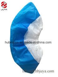 Tejida desechables PP+CPE médicos impermeable antideslizamiento revestido de la industria nacional cubrezapatos
