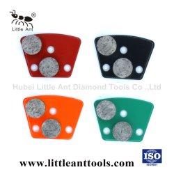 Алмазные шлифовальные пластину с помощью круглой металлической конкретные шлифовального круга