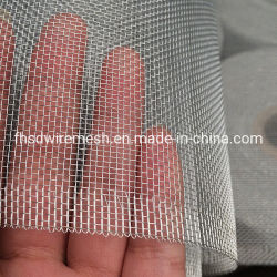Alliage d'aluminium de couleur argent brillant Wire Mesh