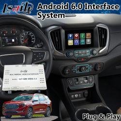 Android 6.0 Système de navigation GPS de voiture pour GMC Terrain Mirrorlink 2014-2018