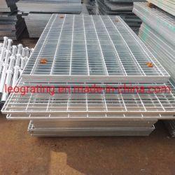 Una clase de rejilla de acero galvanizado en caliente la tapa de drenaje de Q235 Material