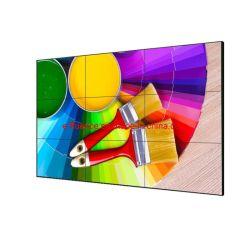 E-Fluenceは49インチのビデオ壁広告マルチLCDビデオウォール・ディスプレイ縦のモニタを選別する