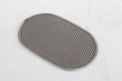 Ovale filtre en acier inoxydable disque double couche