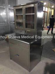 Kabinet van de Opslag van het Instrument van het Roestvrij staal van het Meubilair van het ziekenhuis het Medische