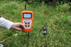 Medidor de temperatura del suelo