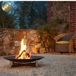 Оптовая торговля дешевые металлические сад отопление Fire яму оформление мангал