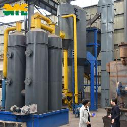 1MW 2MW Generador de turbina de vapor de gasificación de biomasa pellets de madera de la planta de energía