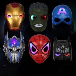 Il partito d'ardore dei regali di Halloween dell'uomo del ferro del LED fornisce i giocattoli della mascherina