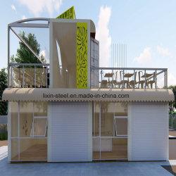 Schnelle Montage Vorgefertigte Haus Modular Coffee Shop Prefab Haus