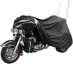 Harley Davidson のためのオートバイの付属品の三種の重い義務のオートバイカバー