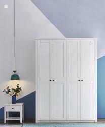 Шкаф для простого хранения с двумя спальнями просто одеждой шкаф мебель