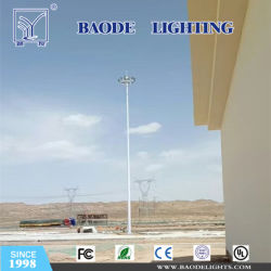 het Opheffen van de Hoogte van 30m de AutoVerlichting van de Mast van Pool Hight van het Staal