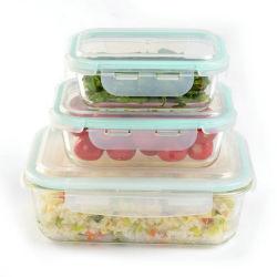 Hohes Borosilicat-Glas-Lebensmittelkonservierung-Tafelgeschirr