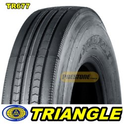 Tr677 Triangle & Prestasin Premium ضحل مداس الإطار 11r24.5 16PR