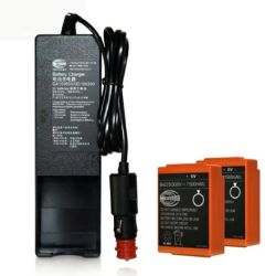배터리, 충전기 및 리모컨 액세서리가 있는 HBc 및 dBm 무선 리모컨에 사용됩니다