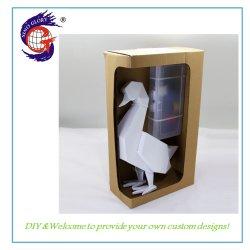 Bricolaje personalizados hechos a mano Pato naves interiores decoración de la pantalla de escritorio