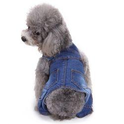 Broeken van de Jeans van de Hond van de Kleren van het Jong van de Kleding van het Huisdier van de kwaliteit de Klassieke Algemene