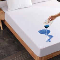 Cama Queen size Premium 130gsm Felpa suave protector de colchón suave en la Reina, impermeable y transpirable, bloquea los ácaros del polvo, alérgenos,