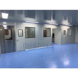Douche d'air de blocage de l'air ISO 7 chambre propre avec porte de la salle propre