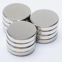 Fábrica de neodimio baratos fuerte permanente imán de disco Imán redondo