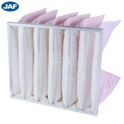 La Chine de gros sac de matériel de filtration du filtre de taille moyenne de la climatisation