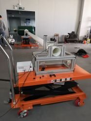 De Gordijngevel van de Bouw ASTM E1886-2005 Anti - de Machine van de Test van het Puin van de Wind