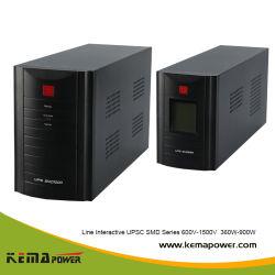 SMD1200va Off-line Enige LEIDENE van de Fase LCD Lijn Interactief UPS met Batterij