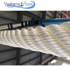 3/24 Strang-Qualitäts-weißer Farben-Haustier-Liegeplatz-Seil-Gebrauch auf Behälter mit Bescheinigungen
