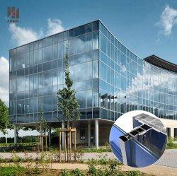 Изготовление коммерческих зданий и инженерных работ с низким E стекла с алюминиевой рамкой стекла наружной стены скрывают рамы навесной стены