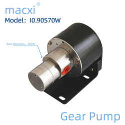 0.9 мл/Ред. Micro Electric Встроенный привод DC без щеткощеткоух Стальной шестеренчатый насос I0.90s70W