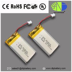 Las baterías de litio 3,7V 720mAh 750 mAh de polímero de litio 503048 con Kc la certificación CE