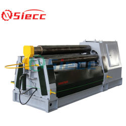 Quatre cnc machine de laminage de la plaque hydraulique de rouleau / CNC 4 rouleaux de plieuse