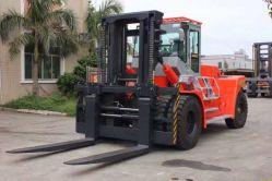Chinois Big meilleur chariot élévateur à fourche de 25 tonnes de gazole