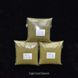 Polvere sintetica del diamante ricoperta Cu del Ni del micron & della maglia & del Ti per il taglio che frantuma polacco ed avvolgimento della soluzione