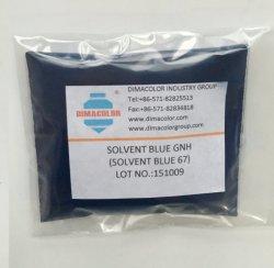 Disolvente Gnh Azul Azul disolvente (67) de aceite de tinta de tintes de Vela de cera de plástico