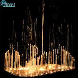 Jardín de Luz LED decoración colorida fuente de agua Musical