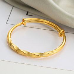 Custom Fashion Accessoires Verstellbare Schmuck Imitation Gold Armband