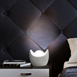 Cambio de color RGB LED de control de golpe de voz+Noche de Luz con la batería