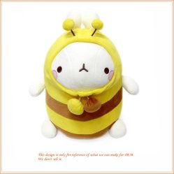 Bee Molang Rag Doll abeille à miel des jouets en peluche pour les enfants