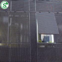Bâtiments industriels Barre d'acier plat grillage de clôture de la fenêtre