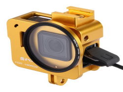 Les trames Custom-Made usiné les carters de filtre à lentille de caméra flasques de châssis d'usinage CNC en aluminium